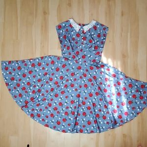 Hell Bunny Apple dress